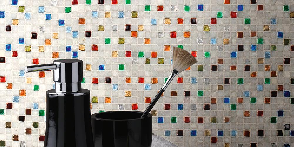 buntes glasmosaik - Mosaik Fliesen